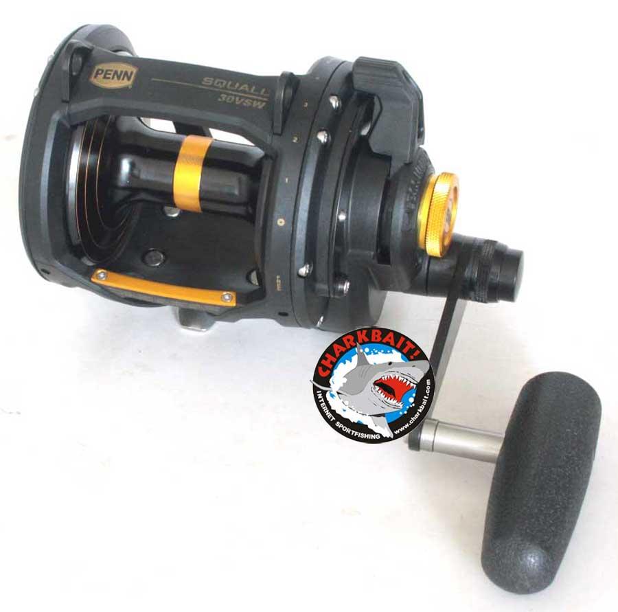 Penn Squall Lever Drag 2-Speed Reels