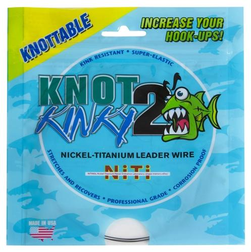 Knot2Kinky Nickel-Titanium Single Strand Wire