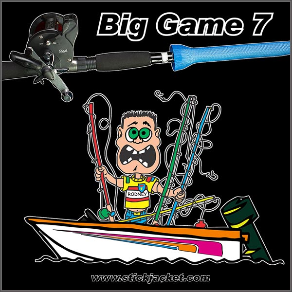 Stick Jacket Big Game 7 Rod Covers